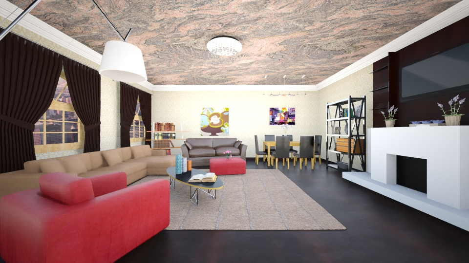 Kamash - Living room - by Kamale