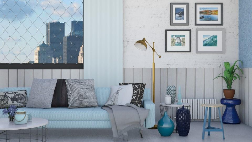 Industrial Design - Living room - by marleinxs