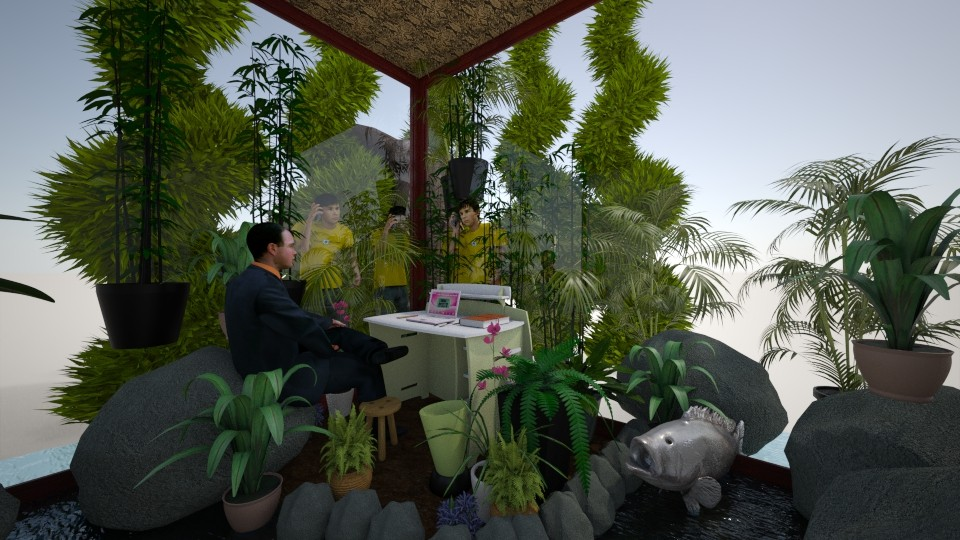Other of the Side Dish - Eclectic - Office - by Wayfarer of Rither Fall