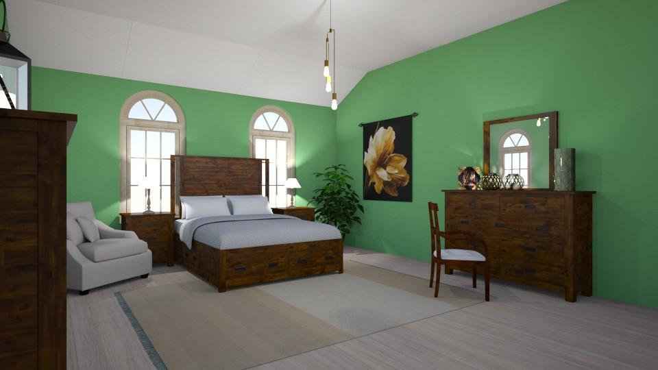 bedroom 1 - Minimal - Bedroom - by mollysamuel