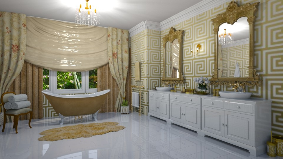 Grecian Bathroom - by creato