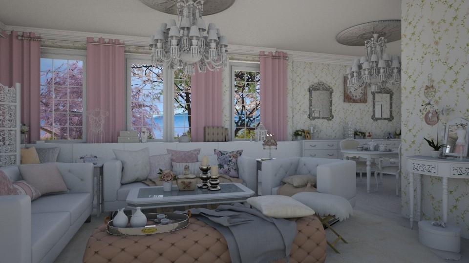 Shabby Chic - Living room - by i l o n a