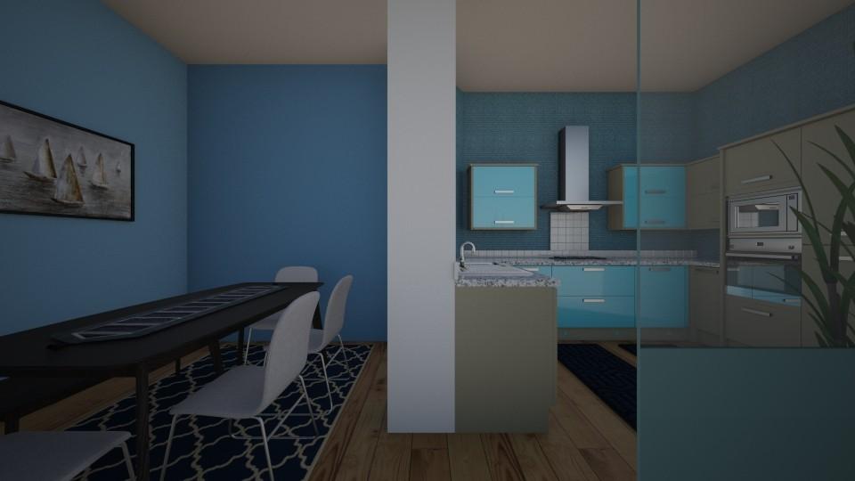 Kitchen - by Ana Angela