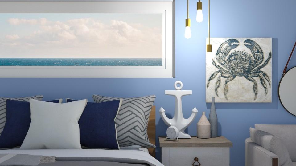 Nautical Bedroom - Bedroom - by cutebaxter123