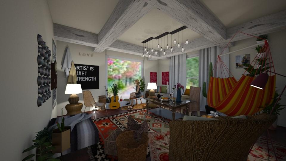 Bohemio - Living room - by Teresa Valdes Beso