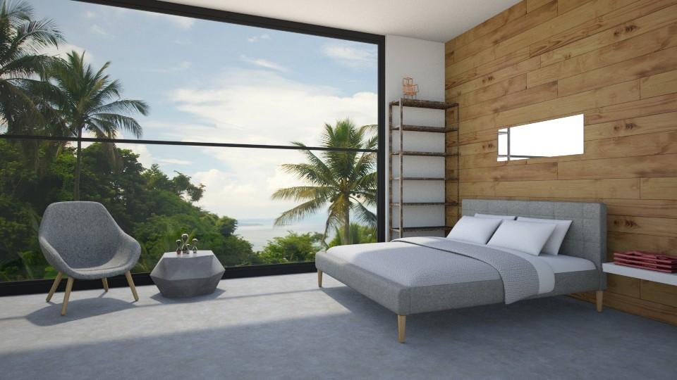 Forest Bedroom - Bedroom - by seasidepine