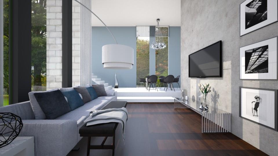 Apart  - Living room - by Valeska Stieg