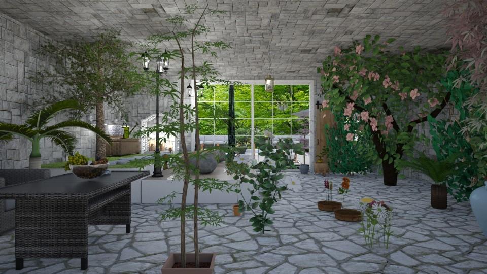 Garden - by LittleKittens