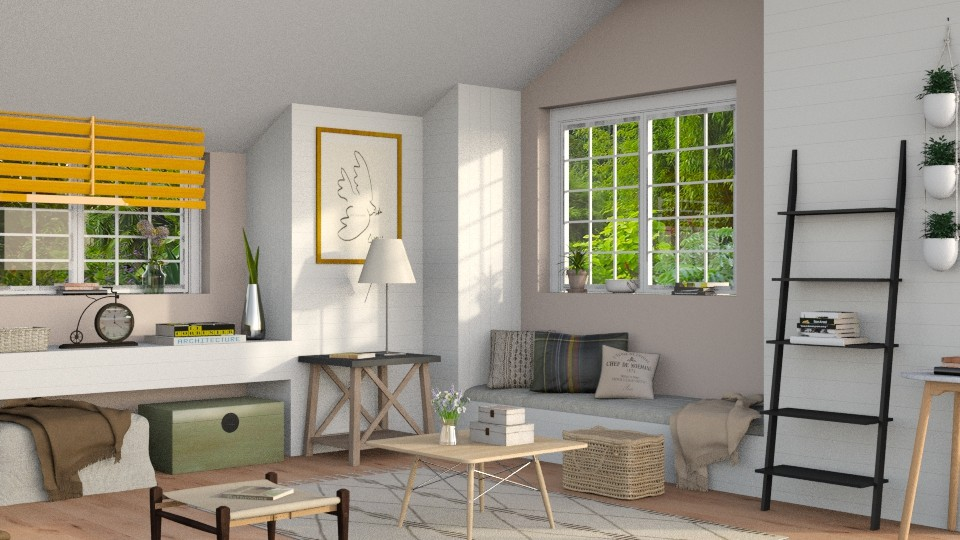 In The Attic 2 - Living room - by Sally Simpson