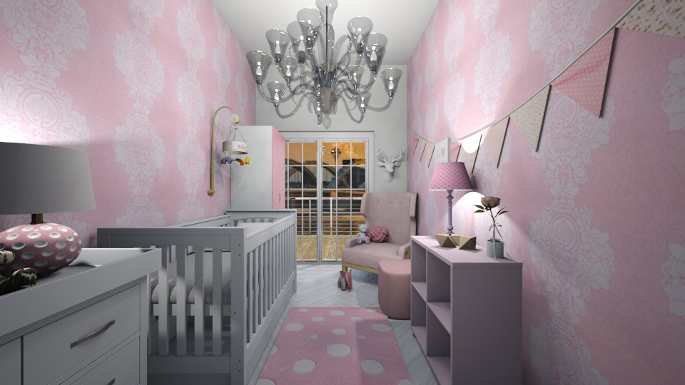 Baby Girl  - Kids room - by nicolaswiggins