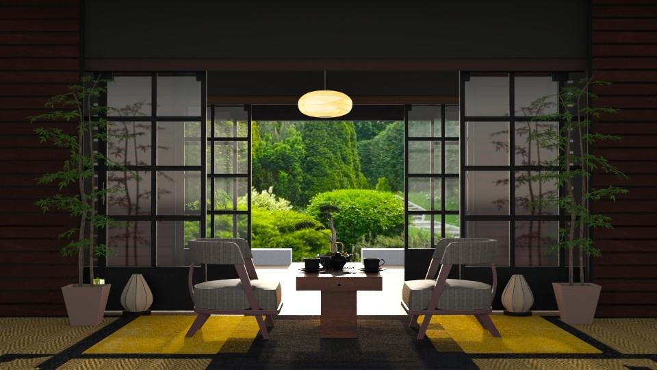 Japan Garden - by ZsuzsannaCs