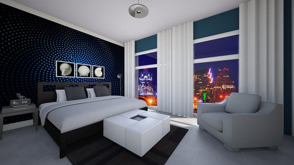 Bachelor's Pad - Modern - Bedroom - by Jhiinyat