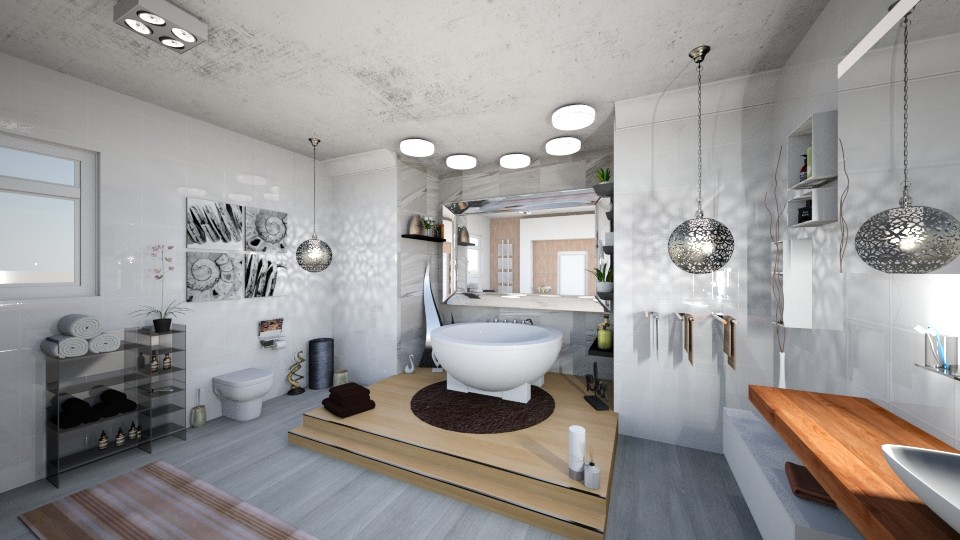 silver pleasure - Bathroom - by snjeskasmjeska
