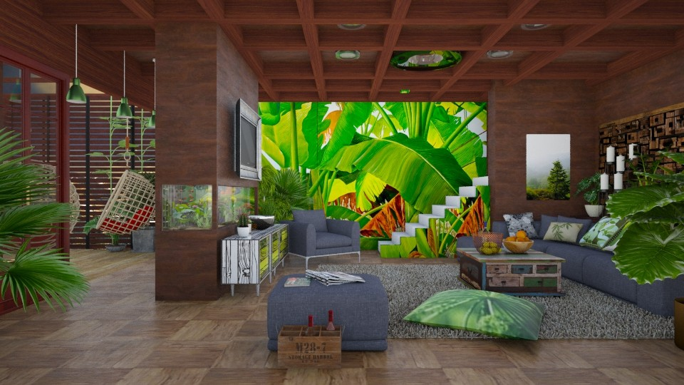 my tropical home  - Modern - Living room - by Ida Dzanovic