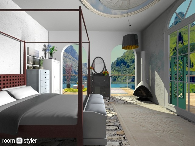 Pantelleria Damuso Contes - Bedroom - by ebonee