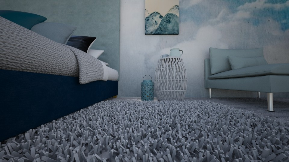 Se sentant un peu bleu - Bedroom - by jojoclik