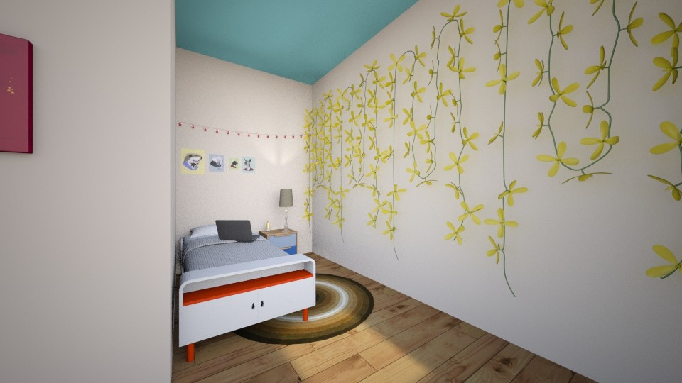 Twin Bedrooms - Bedroom - by Beetle0212