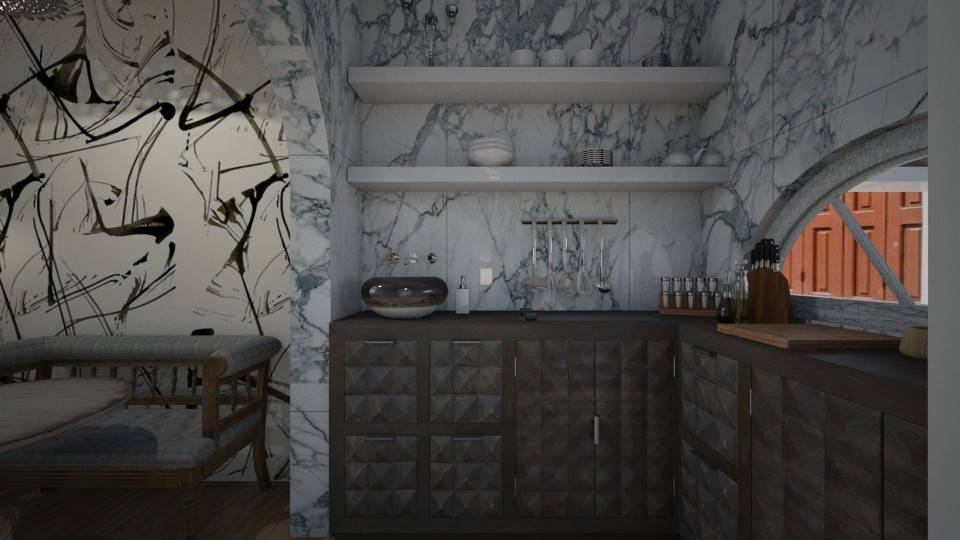 Casa201Kitchen - Eclectic - Kitchen - by nickynunes