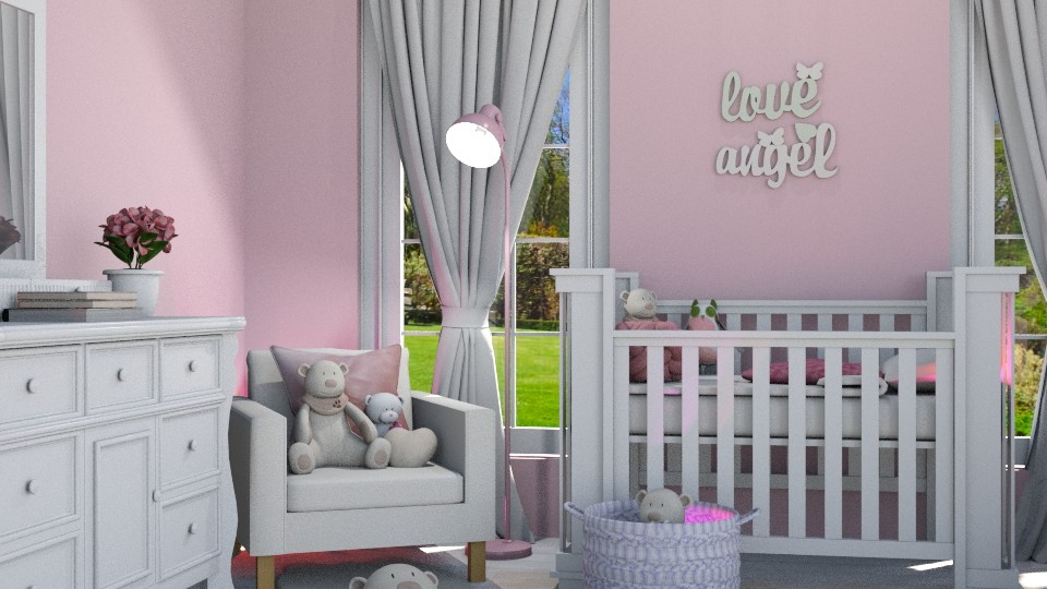 baby room - by Dayanna Vazquez Sanchez