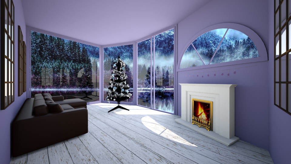 Winter Blues - Dining room - by Jrussell29