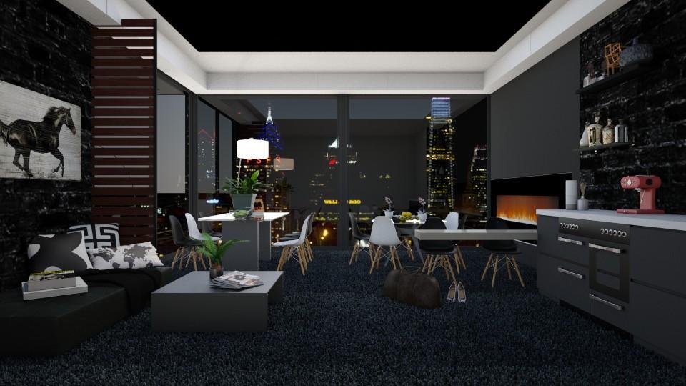 Business Dining - Modern - Bedroom - by bgref