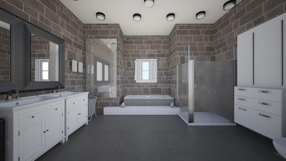modern bathroom - Bathroom - by mbickel