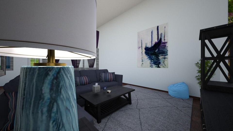 Family House TV Room - Living room - by d4so9h