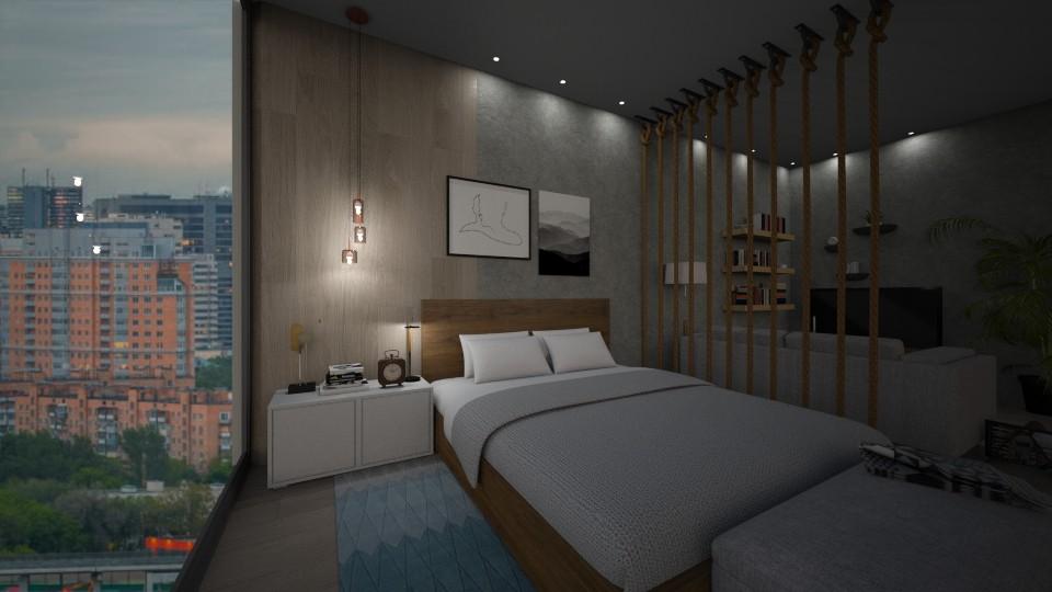 Short Rental Bedroom  - Bedroom - by zabarra