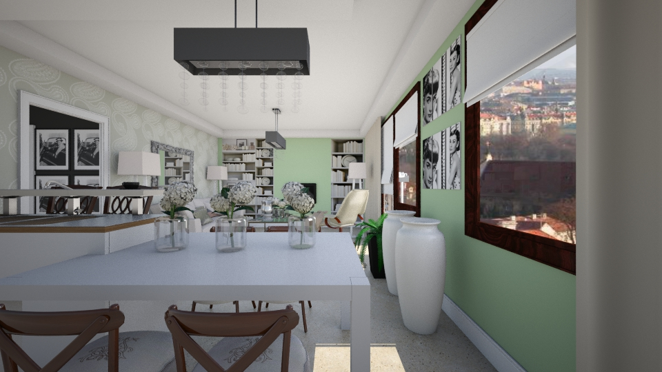 glamour zelena op - by designdecosimona