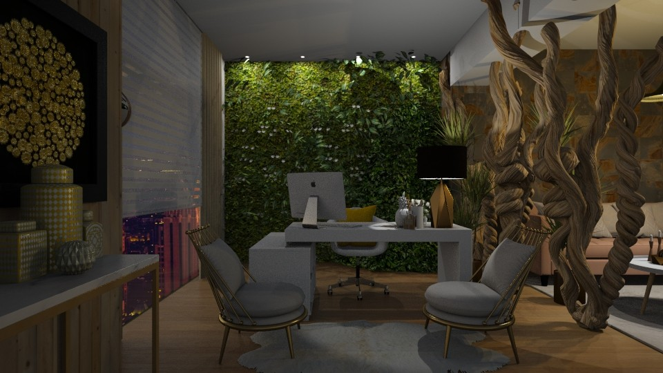 Living Office Wall - Office - by Vlad Silviu