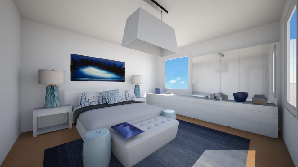 blue - Bedroom - by Iren89