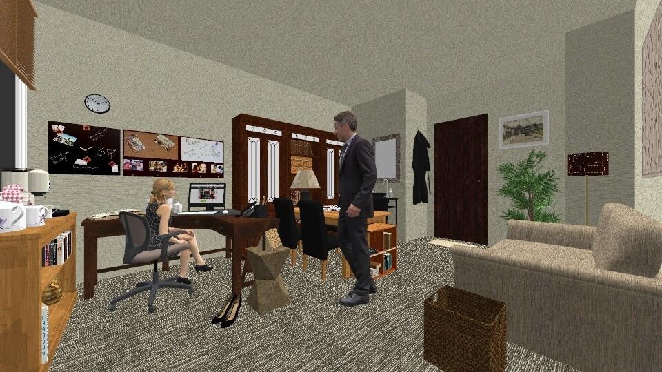 husband in my office - by sue___mu