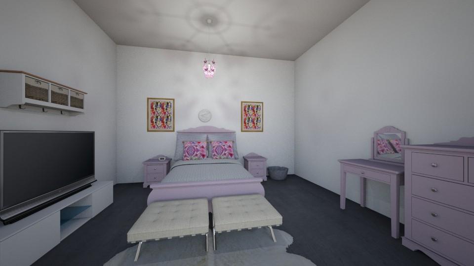 Lilac N Lush Grey - by DrJaffaDesigner