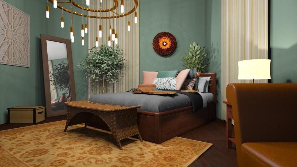 DustySun - Glamour - Bedroom - by tena9