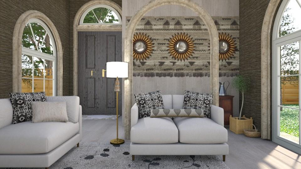 Homey  - Modern - Living room - by XiraFizade