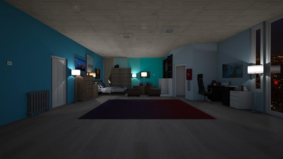 I - Bedroom - by The cartoon fan
