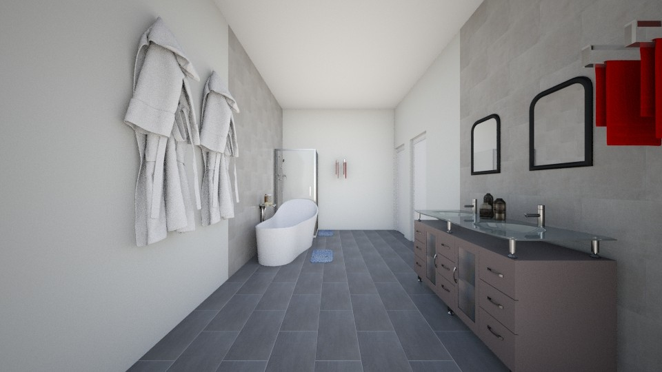 Bathroom with a SPLASH - Modern - Bathroom - by hdricci01123890