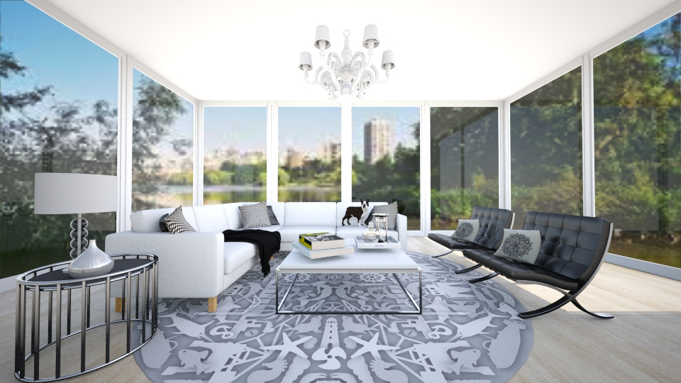 lake view - Living room - by jessicabaucke
