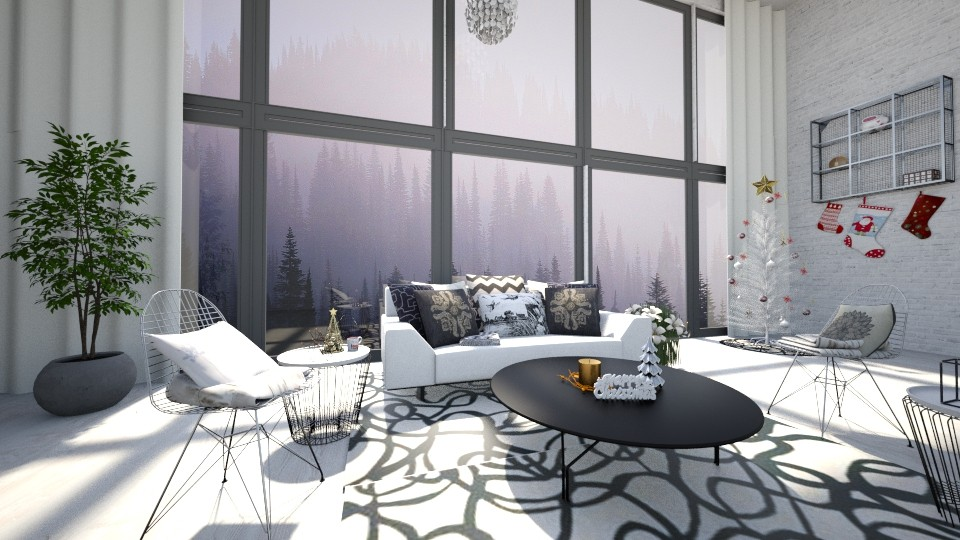 All That Glitters - Modern - Living room - by Snowy Tiger