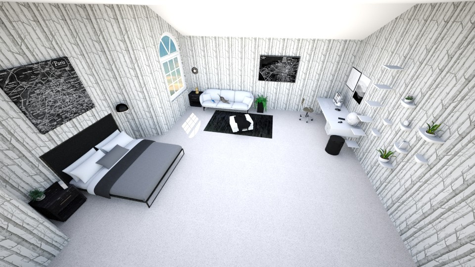 Luxury Apartment  - Modern - Bedroom - by blorp