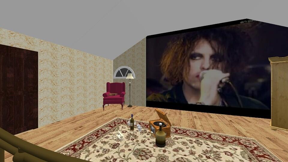 attic bedroom - by talialodaya