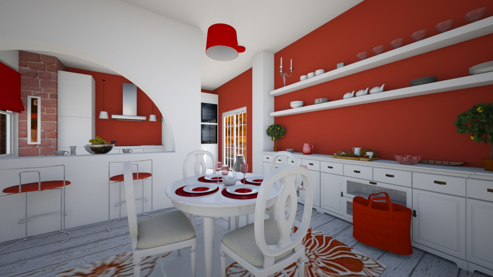 dining kitchen - Kitchen - by rasty