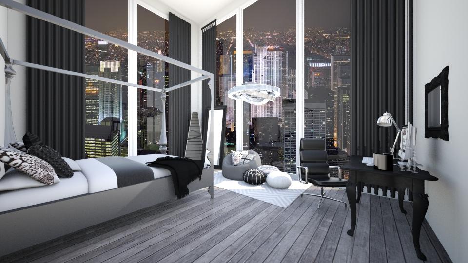 City Bedroom - Bedroom - by jessicabaucke