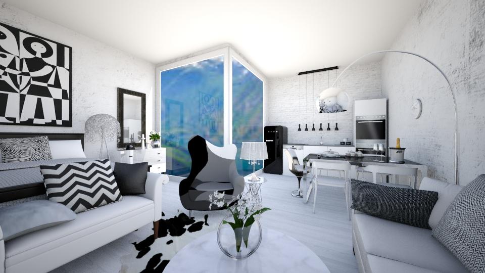 Tiny classy house - Minimal - by Georgina Holly