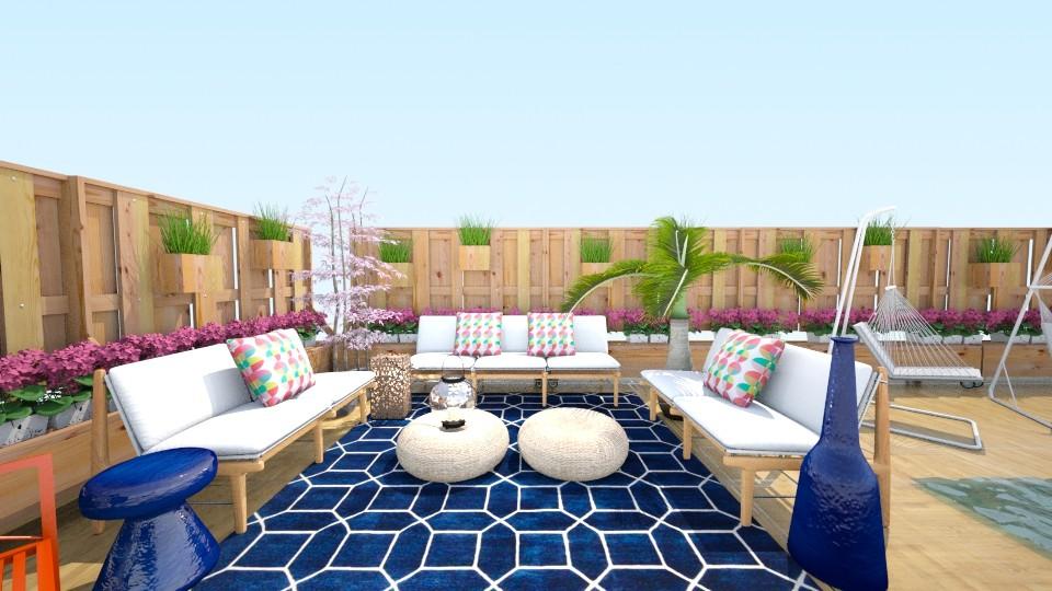 Summer Deck - by GoCubsForever