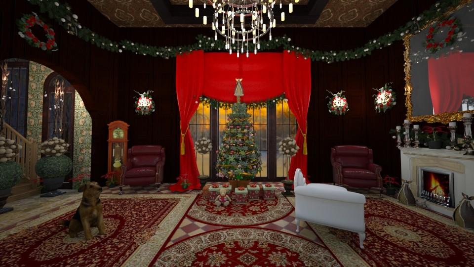 christmas - Masculine - Living room - by kla