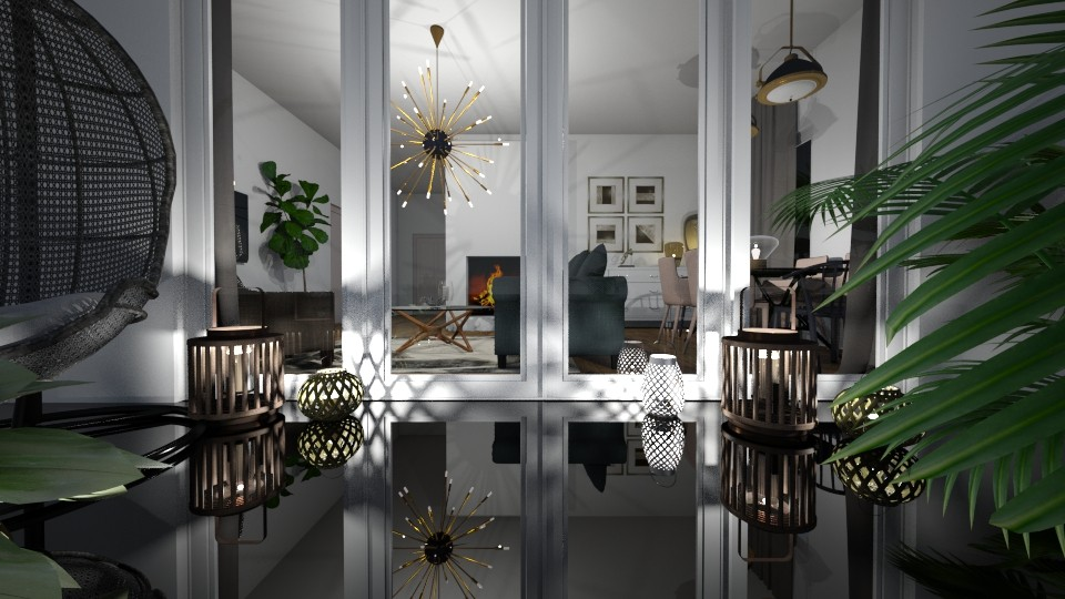 Loving lanterns - Living room - by jagwas
