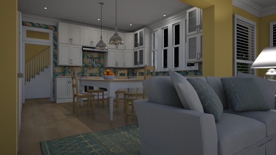kitchen - by Valentinapenta