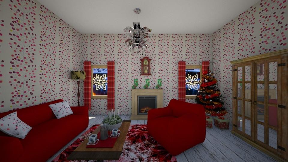 christmas design - Living room - by sirtsu