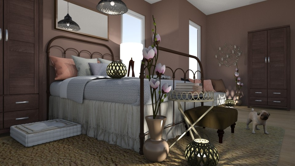 Magnolia  - Bedroom - by Yate